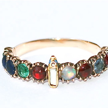 Elle Vous Va -- Acrostic Ring - Fine Jewelry