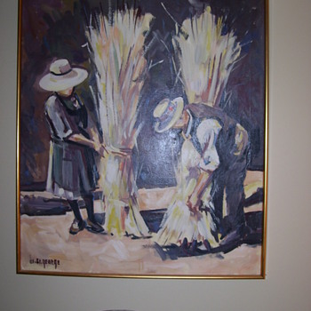 WILLIS ST. GEORGE OIL PAINTING (1914-1965) - Fine Art