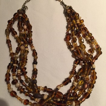 Amber necklace? - Costume Jewelry