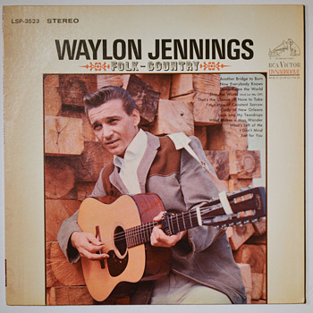WAYLON JENNINGS - early LPs - Records
