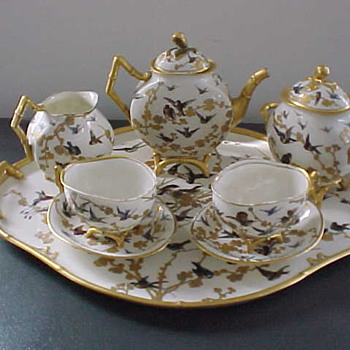 Sevres Porcelain Royal Service Tea Set  - China and Dinnerware
