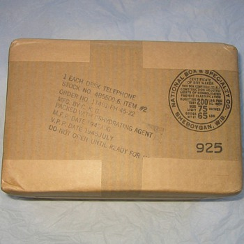 My Best Find Ever - Kellogg Phones Stored NIB in Warehouse for 60 Years! - Telephones