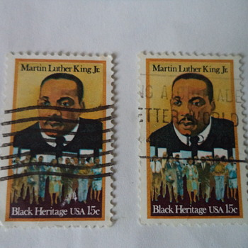 Martin Luther King Jr. - Black Heritage USA 15cents Stamp