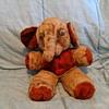 Vintage Elephant Plushie