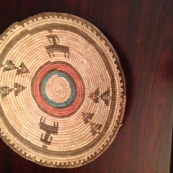 Native American Basket - Furniture