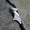 Crown Trifari Brooch - Bow Tie - Ribbon - Twist