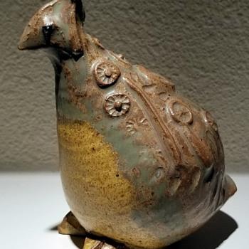 Francis Senska Studio Pottery Bird - Pottery