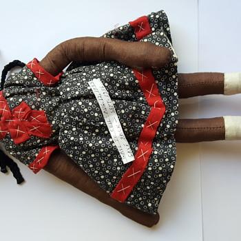 African American cloth doll