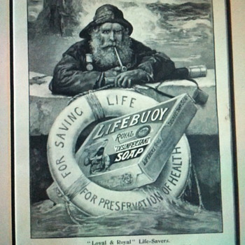 Lifebuoy royal disinfectant soap poster.