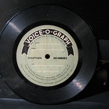 Voice - O - Graph - Records
