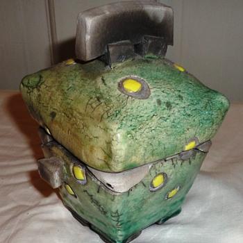 Ceramic Lidded Box - Pottery