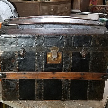 Restored/Preserved 1870s Trunk  - Furniture