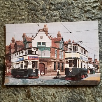 Old Birmingham postcards 1949 and 1975. - Postcards