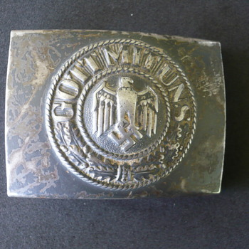 German Army Belt Buckle - Military and Wartime