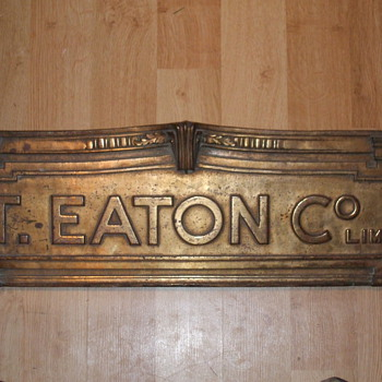 The T. Eaton co limited sign