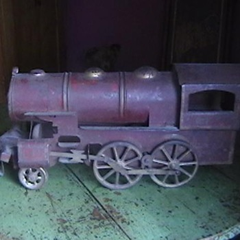 1920's Train Friction Toy - Model Trains