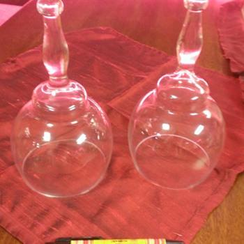 Vintners tool, travelers' tipple or stirrup cup?  - Glassware