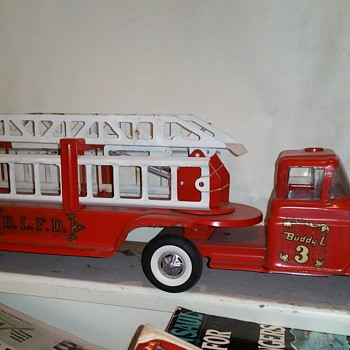 Vintage fire truck - Toys