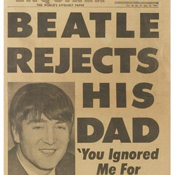 National Enquirer-John Lennon cover- 1964