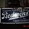 Porcelain Piedmont Tobacco Sign...The Virginia Cigarette...Two Colors
