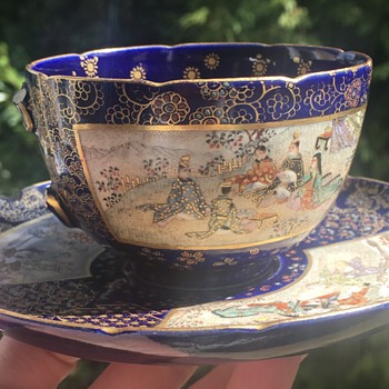 Broken tea cup - Asian