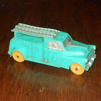 Auburn Rubber Telephone Truck 1950s - Toys