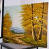 """Original Oil Painting of The Mountains? by """"E.lewis""""  HELP!"""