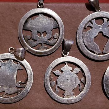 Sterling Pendants - Silver