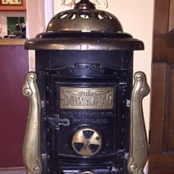 Round Oak Air-Tight model stove, I-3 model, size 24 - Kitchen