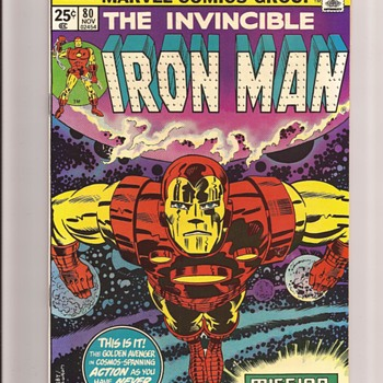 The Invincible Ironman - Comic Books