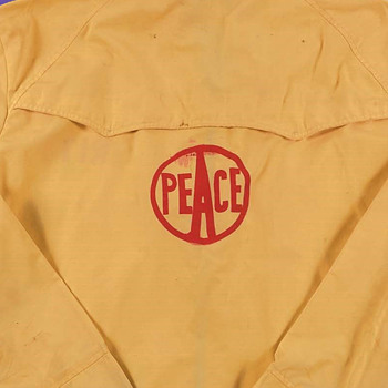 Original 1969 Woodstock Festival Used Security Jacket - Music Memorabilia