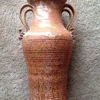 Stoneware floor vase - Pottery