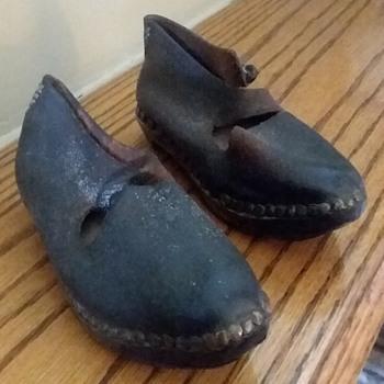 Wooden sole children's shoes - Shoes