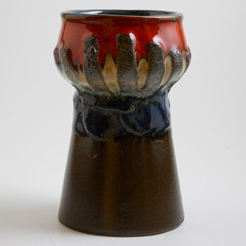 Strehla-GDR, East Germany Vase, circa 1960-70 - Pottery