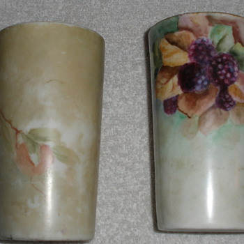 Painted glasses - Pottery
