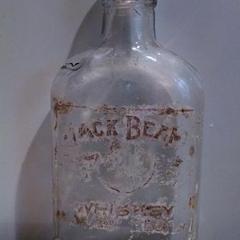 Jack Beam Whiskey Bottle - Bottles