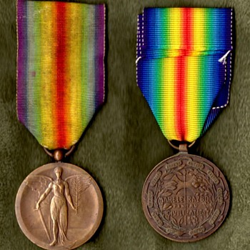 The WWI Victory Medal Series – Rumania - Military and Wartime