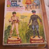 Vintage Rapco WW2 Lead Toy Soldier Set
