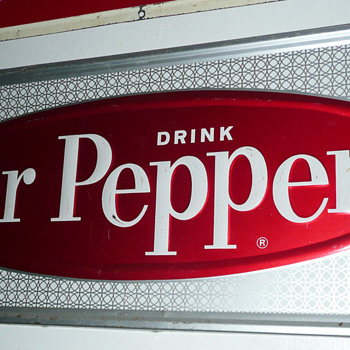 Dr Pepper Sign  - Signs