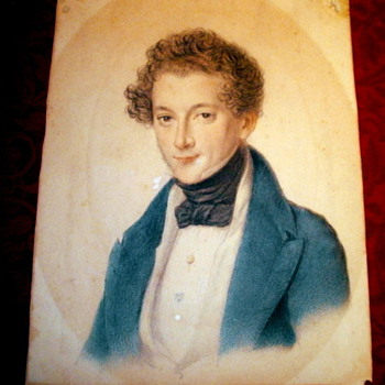 Painting or Drawing of man from 1800's - Posters and Prints