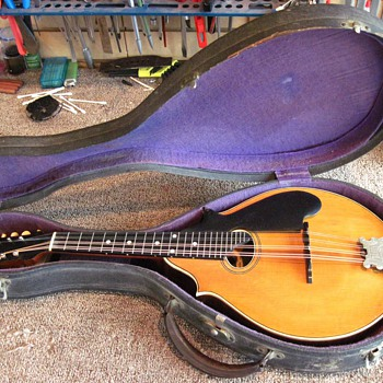 My Lyon & Healy Style A and Style B mandolins