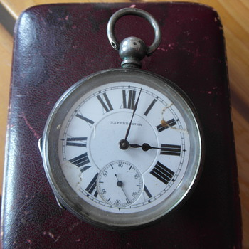 Patent Lever Pocket Watch with Chronometer