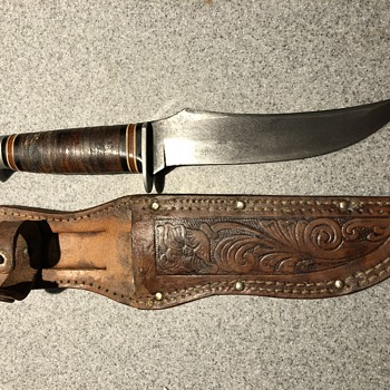 Vintage Schrade fixed blade knife - Tools and Hardware