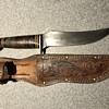 Vintage Schrade fixed blade knife