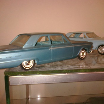 The '62 Fairlane promo is the only year, like the '62 Impala where the hood opens.  It also has esquisite interior detail.