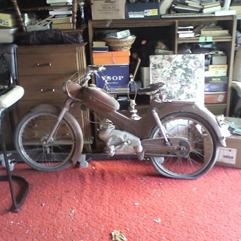1963 Steyr-Daimler-Puch..found picking through our neighbors garage.                                                            - Motorcycles