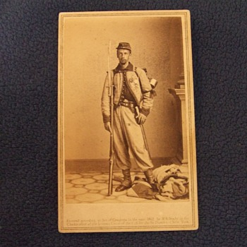 Francis Brownell, Ellsworth's Avenger Civil War cdv - Photographs