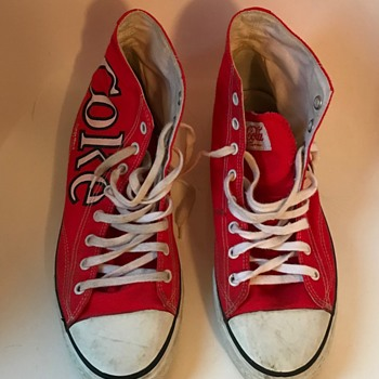 Coca Cola shoes. - Coca-Cola