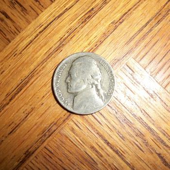 five cents  P  1943