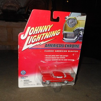 Johnny Lightning 1958 Impala - Model Cars